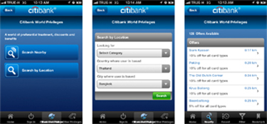 Citibank thailand citi mobile for Siti mobili on line